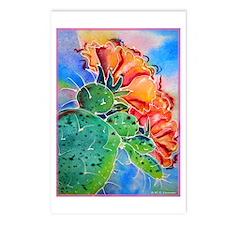 Cactus! Colorful southwest art! Postcards (Package