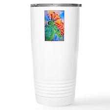 Cactus! Colorful southwest art! Travel Mug