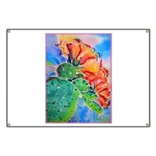 Cactus! Colorful southwest art! Banner