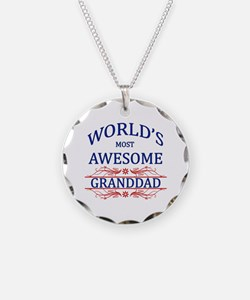 World's Most Awesome Granddad Necklace
