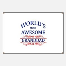 World's Most Awesome Granddad Banner