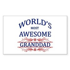 World's Most Awesome Granddad Decal