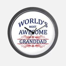 World's Most Awesome Granddad Wall Clock