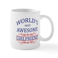 World's Most Awesome Girlfriend Mug