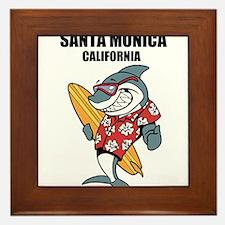 Santa Monica, California Framed Tile