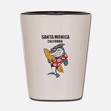 Santa Monica, California Shot Glass