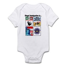 Multi - Illegal Immigration Infant Bodysuit