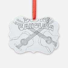 South Carolina Guitars Ornament