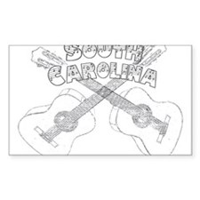 South Carolina Guitars Decal