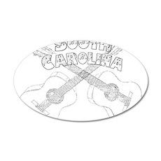 South Carolina Guitars Wall Decal