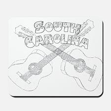 South Carolina Guitars Mousepad