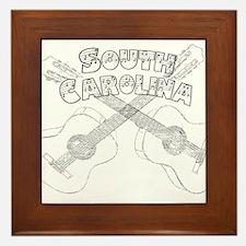 South Carolina Guitars Framed Tile