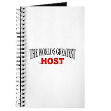 """The World's Greatest Host"" Journal"