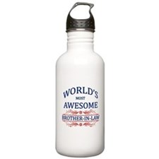 World's Most Awesome Brother-in-Law Water Bottle