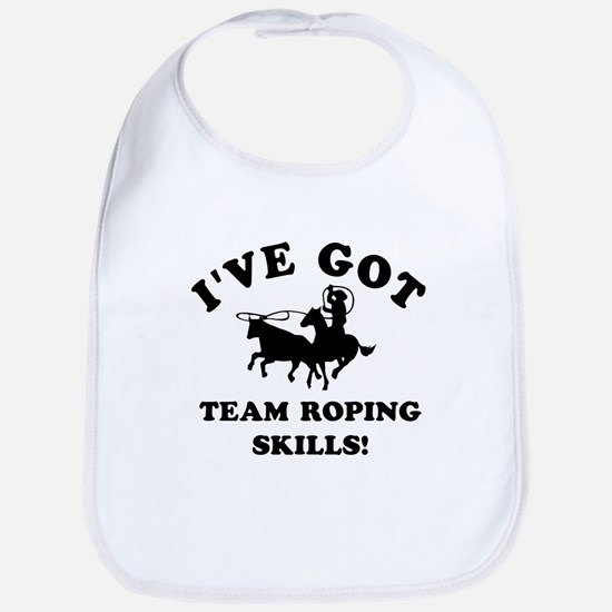 I've got Team Roping skills Bib