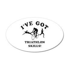 I've got Triathlon skills Wall Decal