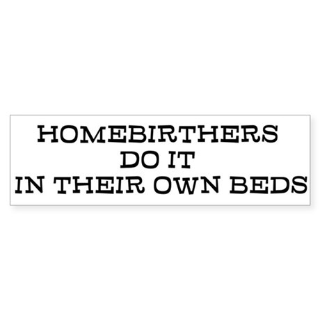 Homebirth Bumper Sticker
