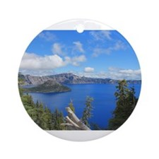 Crater Lake National Park Ornament (Round)