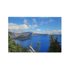 Crater Lake National Park Rectangle Magnet