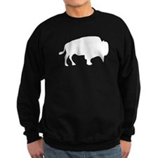 White Buffalo Silhouette Sweatshirt