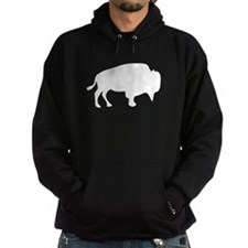 White Buffalo Silhouette Hoodie