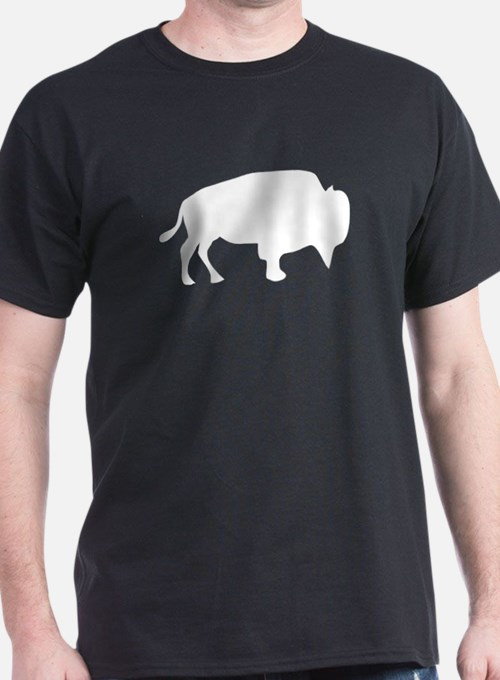 White Buffalo Silhouette T-Shirt