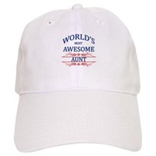 World's Most Awesome Aunt Baseball Cap