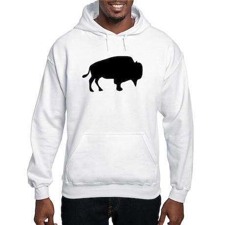 Black Buffalo Silhouette Hoodie