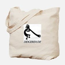 Didgeridude-didgeridoo player Tote Bag
