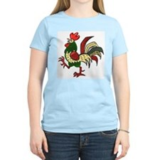 Red Rooster Women's Pink T-Shirt