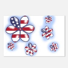 USA Flowers (sc) Postcards (Package of 8)