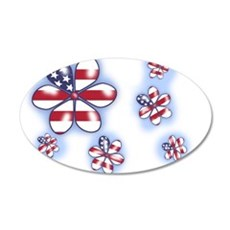 USA Flowers (sc) Wall Decal