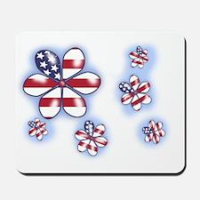 USA Flowers (sc) Mousepad