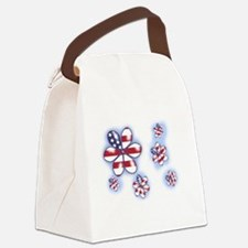 USA Flowers (sc) Canvas Lunch Bag