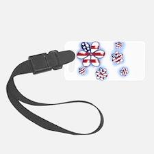 USA Flowers (sc) Luggage Tag