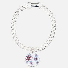 USA Flowers (sc) Bracelet