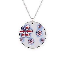 USA Flowers (sc) Necklace