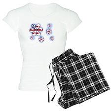 USA Flowers (sc) Pajamas