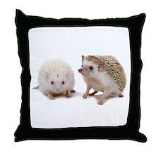 rosie Hedgehog Throw Pillow