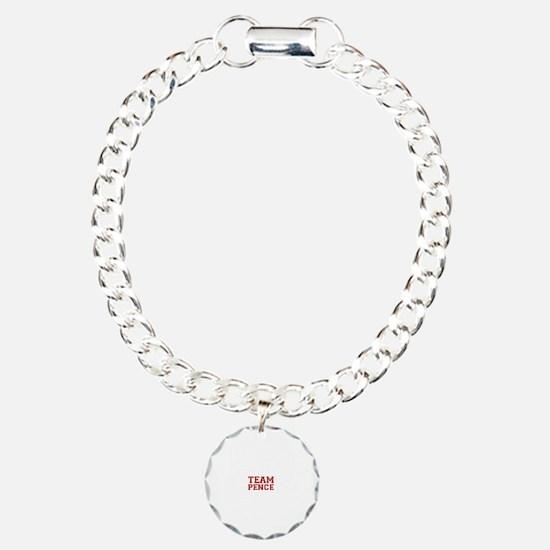 Team Pence Charm Bracelet, One Charm
