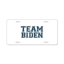 Team Biden Aluminum License Plate