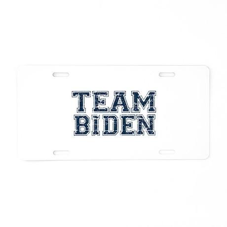 Team Biden Aluminum License Plate