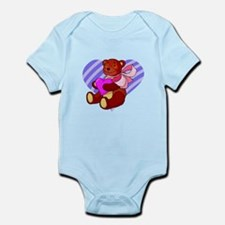 Cute Valentines Bear Body Suit
