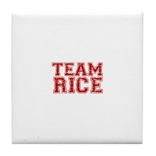 Team Rice Tile Coaster