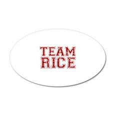 Team Rice Wall Decal