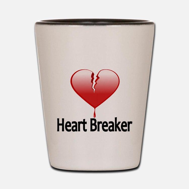 HEAR BREAKER Shot Glass