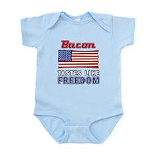Bacon Tastes Like Freedom Infant Bodysuit