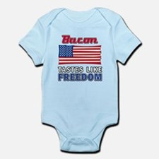 Bacon Tastes Like Freedom Infant Bodysuit