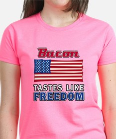 Bacon Tastes Like Freedom Tee