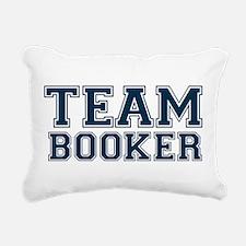 Team Booker Rectangular Canvas Pillow